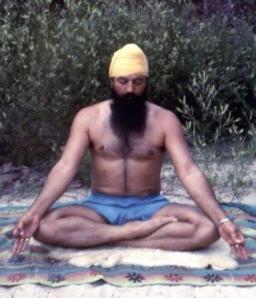 Yogi Bhajan gian mudra